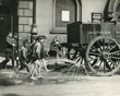 © William Whiffin, courtesy of Tower Hamlets Local History Library & Archives    Children following water cart 1919